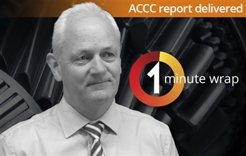 ACCC Report Delivered