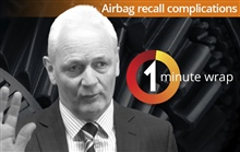 Airbag recall complications